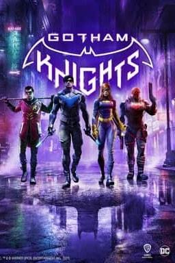 Gotham Knights - Key Art