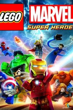LEGO Marvel Super Heroes - Key Art