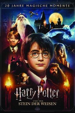 Harry Potter und der Stein der Weisen - mit Magical Movie Modus Bonus-Disc - Key Art