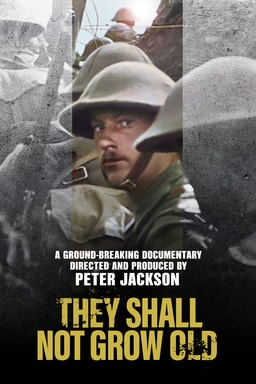 They Shall Not Grow Old (OmU) - Key Art