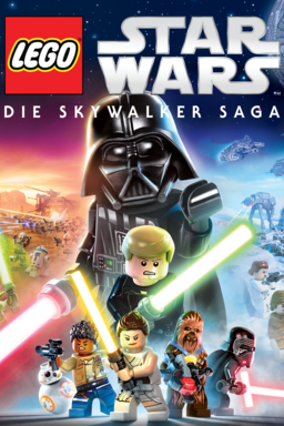 LEGO Star Wars: Die Skywalker Saga - Key Art